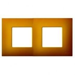 Рамка 2 поста Simon SIMON 27 PLAY, желтый артик, 2700627-081