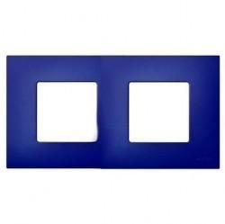 Рамка 2 поста Simon SIMON 27 PLAY, синий артик, 2700627-083