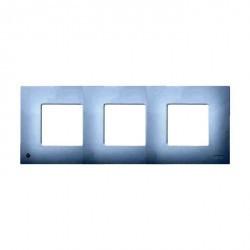Рамка 3 поста Simon SIMON 27 PLAY, белый, 2700637-060
