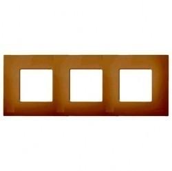 Рамка 3 поста Simon SIMON 27 PLAY, кремовый, 2700637-070