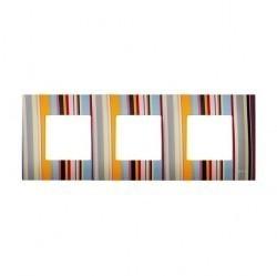 Рамка 3 поста Simon SIMON 27 PLAY, многоцветный, 2700637-801