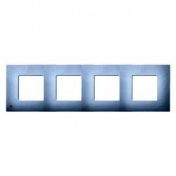Рамка 4 поста Simon SIMON 27 PLAY, белый, 2700647-060