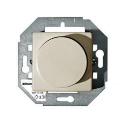 Светорегулятор поворотный Simon SIMON 27, 500 Вт, слоновая кость, 27313-32
