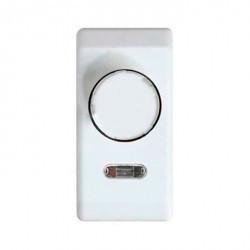 Светорегулятор поворотный Simon SIMON 27, 500 Вт, белый, 27313-34