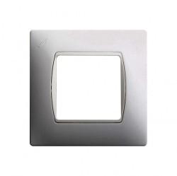 Рамка 2 модуля Simon SIMON 27, белый, 27601-65