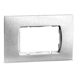 Рамка 4 модуля Simon SIMON 27, горизонтальная, белый, 27615-65