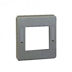 Рамка 1 пост Simon SIMON 44 AQUA, серый, 4400026-035