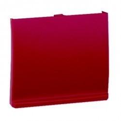 Крышка Simon SIMON 44 AQUA, красный, 4400092-037
