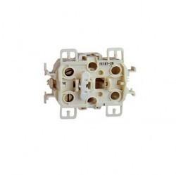 Механизм выключателя 2-клавишного Simon SIMON 73, скрытый монтаж, 73398-39