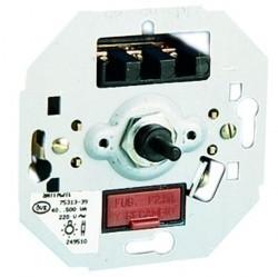 Механизм поворотного светорегулятора-переключателя Simon SIMON 75, 300 Вт, 75311-39