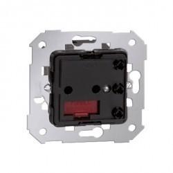 Механизм выключателя-переключателя с таймером Simon SIMON 75, электронный, черный, 75324-39