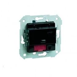Механизм поворотного светорегулятора Simon SIMON 75, 500 Вт, 75355-39