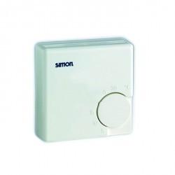 Термостат комнатный Simon SIMON 75, графит, 75500-68