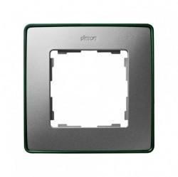 Рамка 1 пост Simon SIMON 82 DETAIL, алюминий, 8201610-253