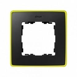 Рамка 1 пост Simon SIMON 82 DETAIL, светло-желтый, 8201610-262