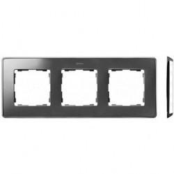 Рамка 3 поста Simon SIMON 82 DETAIL, холодный алюминий, 8201630-093