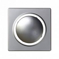 Накладка на светорегулятор Simon SIMON 82, алюминий, 82034-33
