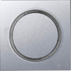 Накладка на светорегулятор Simon SIMON 82, алюминий, 82034-93