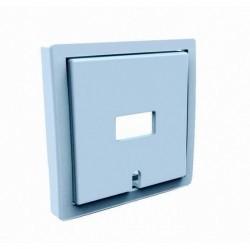 Накладка на розетку USB Simon SIMON 82, алюминий, 82039-33