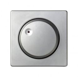 Накладка на светорегулятор Simon SIMON 82, алюминий, 82050-33