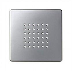 Накладка на аудиорозетку Simon SIMON 82, алюминий, 82052-33