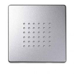 Накладка на аудиорозетку Simon SIMON 82, алюминий, 82052-93