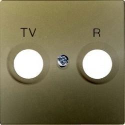 Накладка на розетку телевизионную Simon SIMON 82, шампань, 82053-34