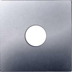 Накладка на розетку телевизионную Simon SIMON 82, алюминий, 82057-33