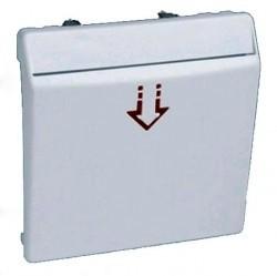 Накладка на карточный выключатель Simon SIMON 82, алюминий, 82078-63