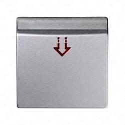 Накладка на карточный выключатель Simon SIMON 82, алюминий, 82078-93