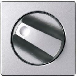 Накладка на поворотный выключатель Simon SIMON 82, алюминий, 82079-93