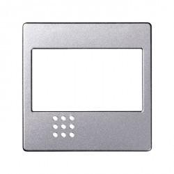 Накладка на светорегулятор Simon SIMON 82, алюминий, 82080-93