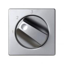 Накладка на светорегулятор Simon SIMON 82, алюминий, 82084-33