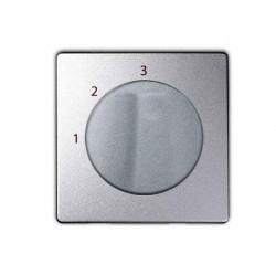 Накладка на светорегулятор Simon SIMON 82, алюминий, 82084-93