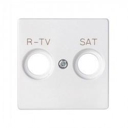 Накладка на розетку телевизионную Simon SIMON 82, белый, 82097-30