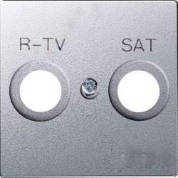 Накладка на розетку телевизионную Simon SIMON 82, графит, 82097-38