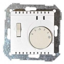 Термостат для теплого пола Simon SIMON 82, с датчиком, белый, 82504-30