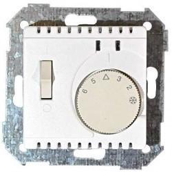 Термостат для теплого пола Simon CENTRALISATION 82, с датчиком, шампань, 82504-31