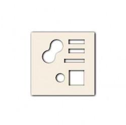 Накладка на поворотный выключатель Simon CENTRALISATION 82, слоновая кость, 82522-31