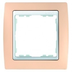 Рамка 1 пост Simon SIMON 82, кремовый, 82611-31