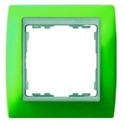 Рамка 1 пост Simon SIMON 82, зеленый, 82611-65