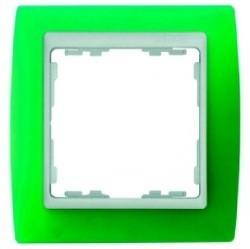 Рамка 1 пост Simon SIMON 82, зеленый полупрозрачный, 82613-65