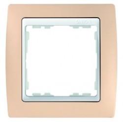 Рамка 2 поста Simon SIMON 82, кремовый, 82621-31
