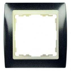 Рамка 1 пост Simon SIMON 82, серый гранит, 82714-60