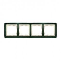 Рамка 4 поста Simon SIMON 82, зеленая текстура, 82744-65