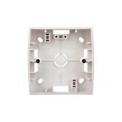 S82 Коробка наружной установки 1-ная, 89х89х27 мм, бел.