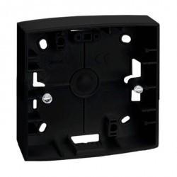 S82 Коробка наружной установки 1-ная, 89х89х37 мм, графит