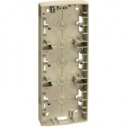 S82 Коробка наружной установки 3-ная, 89х229х37 мм, сл.кость