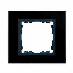 Рамка 4 поста Simon SIMON 82, черный, 82847-32