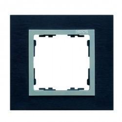 Рамка 3 поста Simon SIMON 82, сталь черная, 82937-38